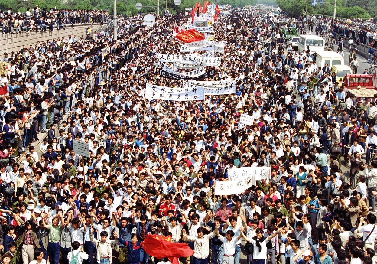 Protestas Plaza de Tiananmén China 1989
