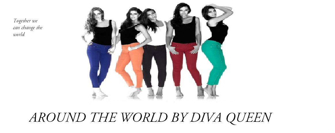 AROUND THE WORLD - BY DIVA QUEEN
