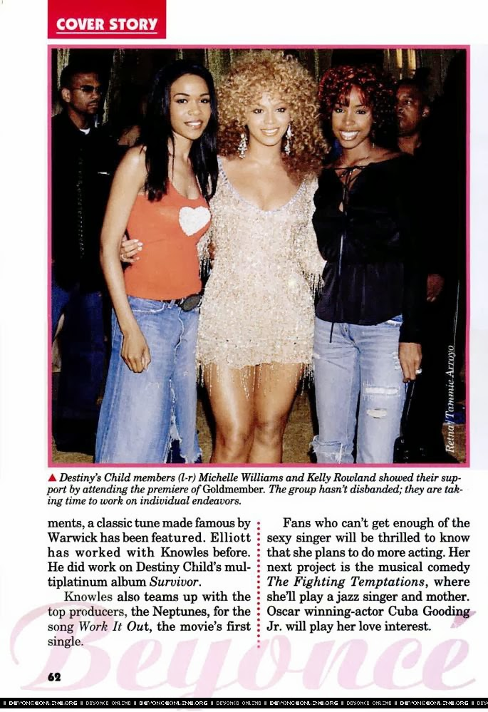 Beyonce Knowles HQ Pictures Jet US Magazine Photoshoot August 2002