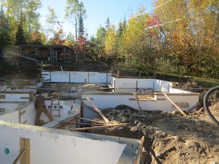 ICF walls, finished, huismanconcepts.com, ely, mn