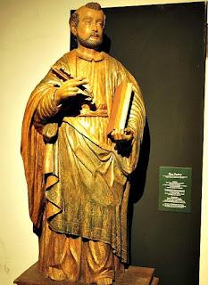 São Pedro no Museu Diocesano de San Ignacio Guazu, no Paraguai.