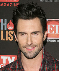 ADAM LEVINE SHORT SPIKY HAIRSTYLES HAIRCUT