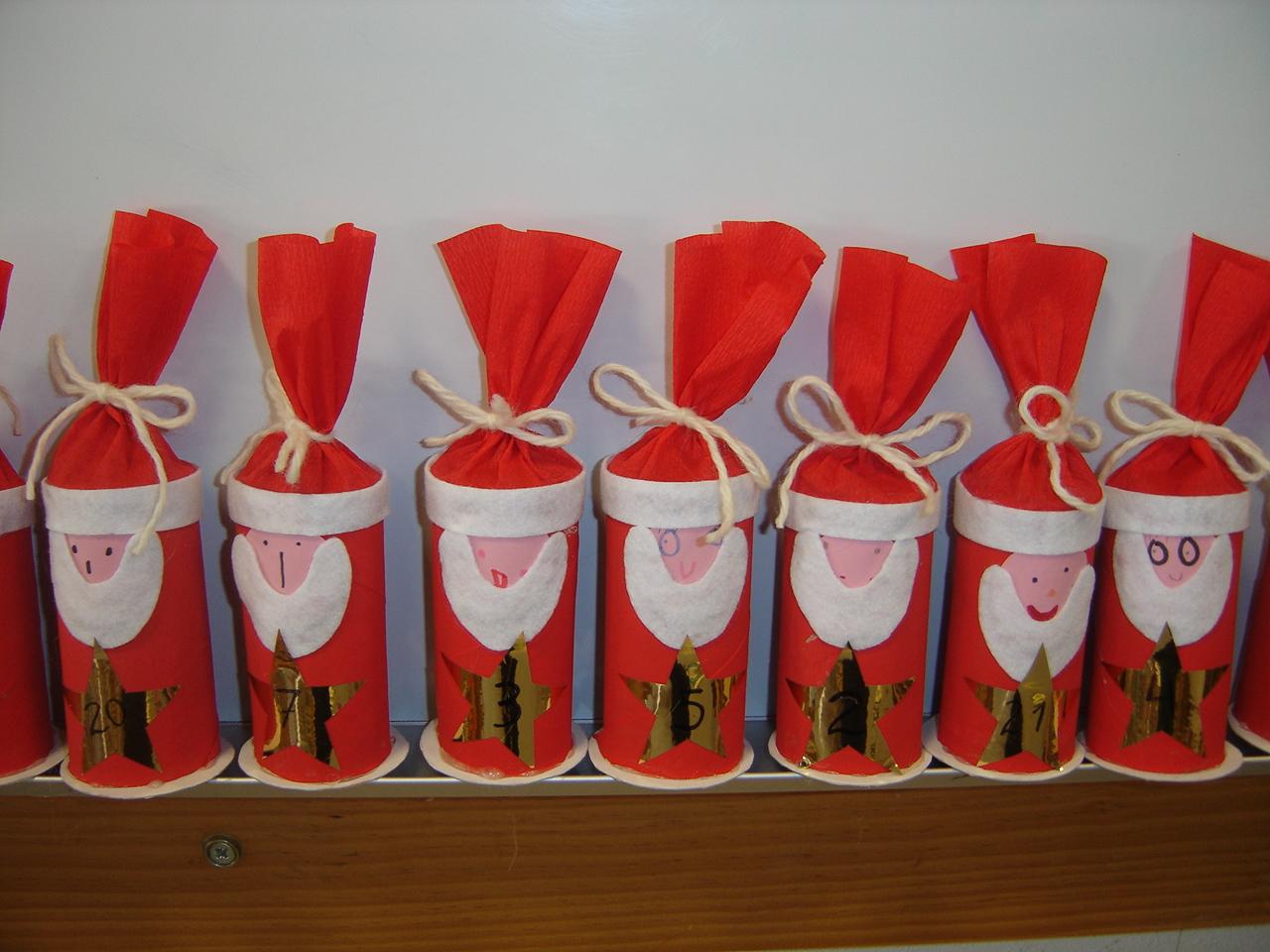 ideias para trabalhar no jardim de infancia:Com rolos de papel higiénico nasce este lindo projecto.