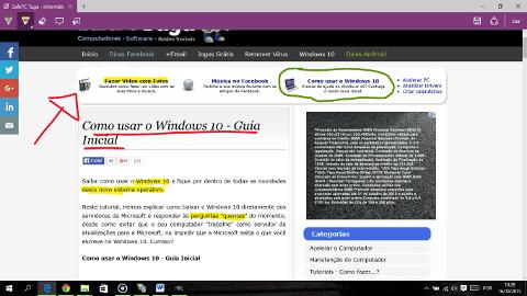 Como fazer anotações em Sites no Microsoft Edge