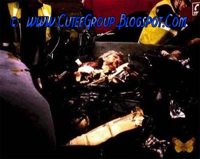 Lady Diana accident scene