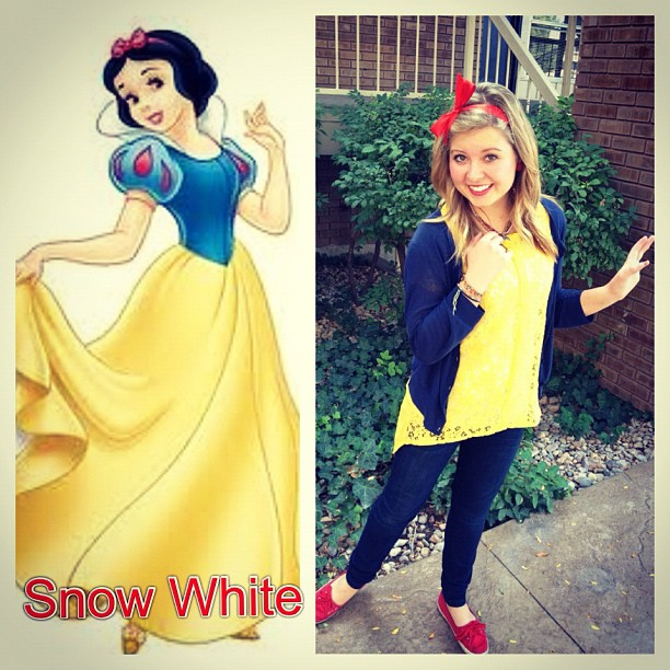 Family Ever After....: Disney Inspired Outfit: Snow White
