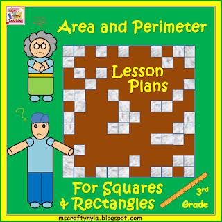 Lesson plans for Area and Perimetre