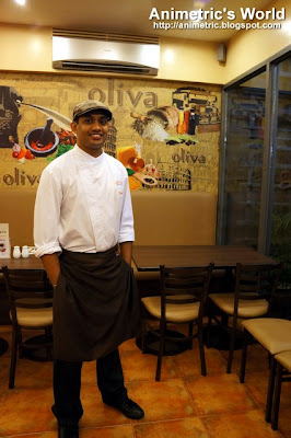 Chef Kannan of Oliva Bistro Cafe