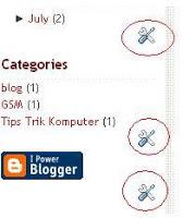 menghilangkan obeng dari blog
