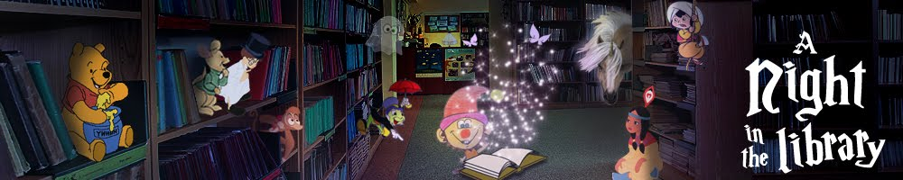 Night in the library