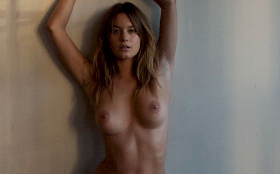 Its All About Fun Nude Camille Rowe Nipslip