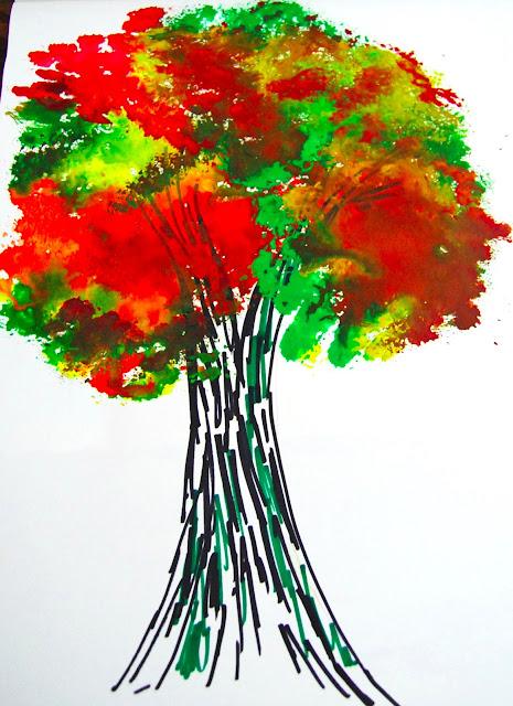 Water Colour Tree art