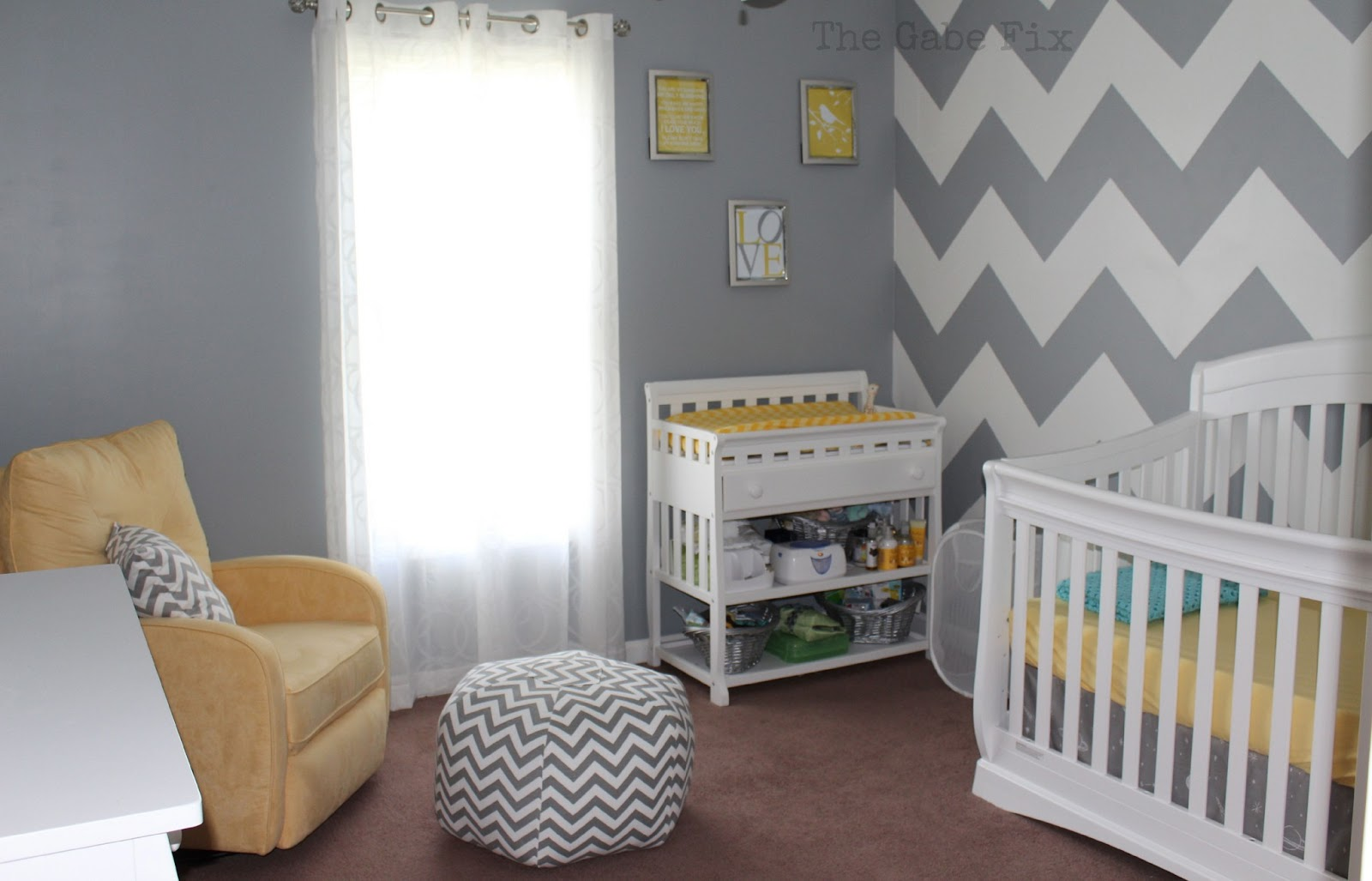 Baby Chad S Nursery The Gabe Fix By Gabrielle Flowers