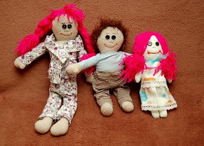 maskotki, lale ręcznie szyte handmade, szmaciana lalka