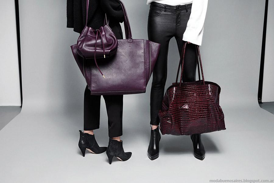 Accesorios de moda otoño invierno 2015: carteras, bolsos, zapatos y botas otoño invierno 2015.