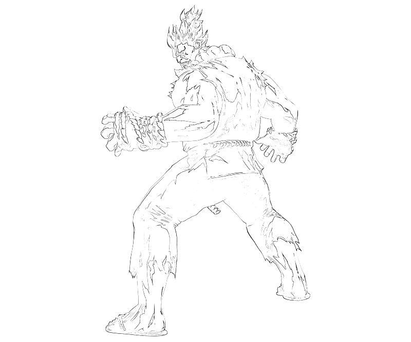 10-akuma-marvel-vs-capcom-akuma-abilities-coloring-pages