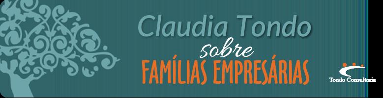 Claudia Tondo | SOBRE FAMÍLIAS EMPRESÁRIAS