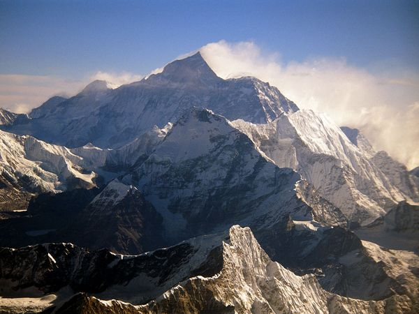 Snow-capped Everest