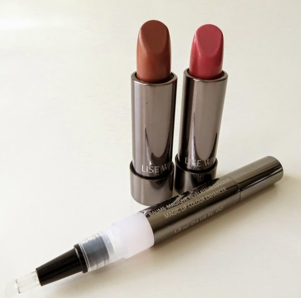 Lise Watier Rivages Summer 2015 Collection Rouge Sublime Lipstick and Magic Lip Colour Enhancer