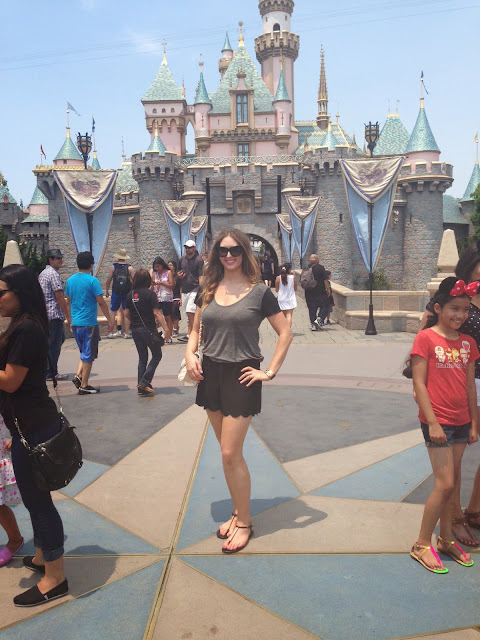 All Gussied Up: Disneyland Outfit