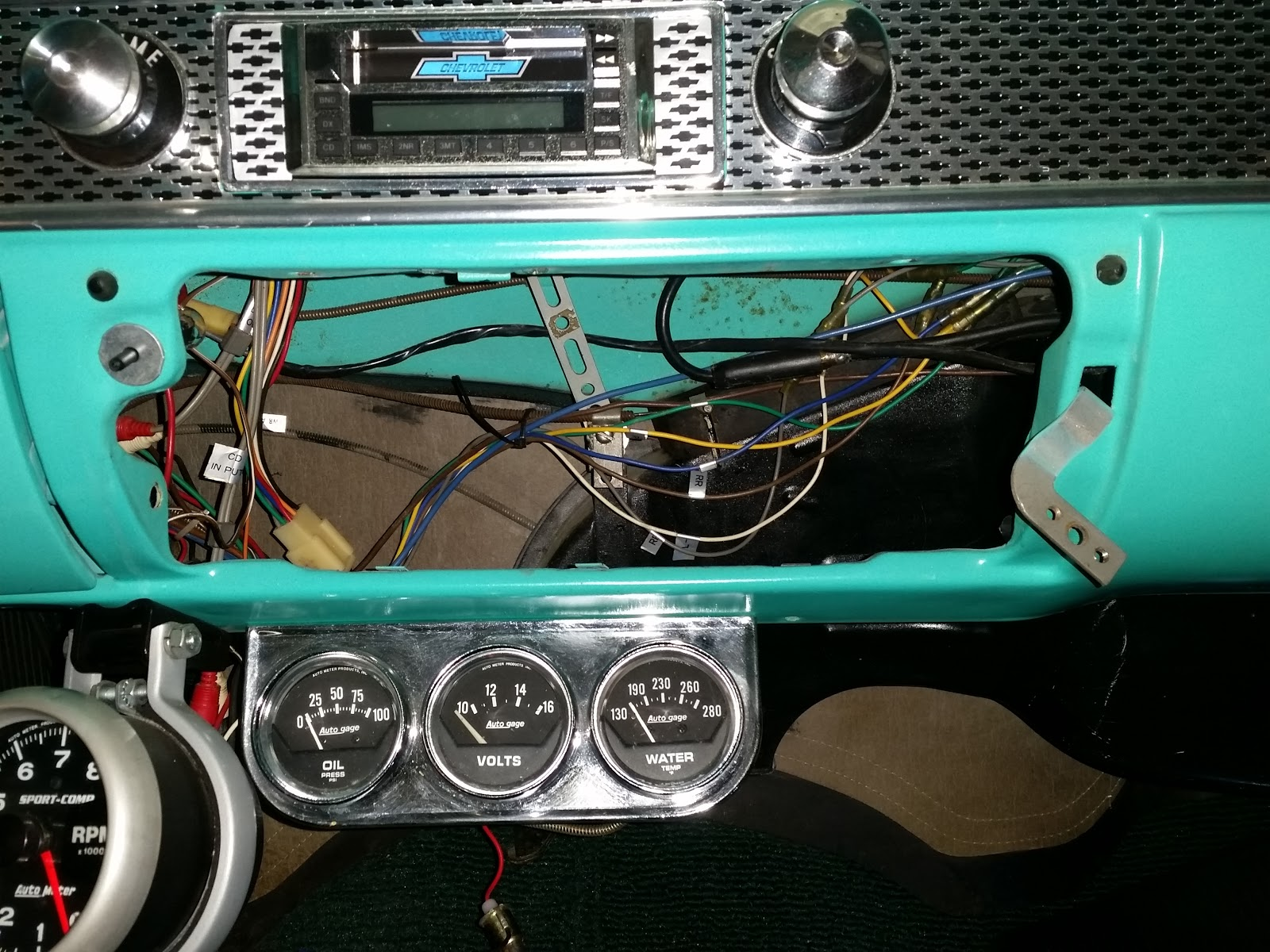 1955 Chevy Heater Core Diagram Schematic Diagrams Ford F100 Bel Air Rebirth October 2015 Control Valve