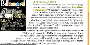 Kmart Song in Billboard Magazine