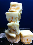White Chocolate Macadamia Fudge