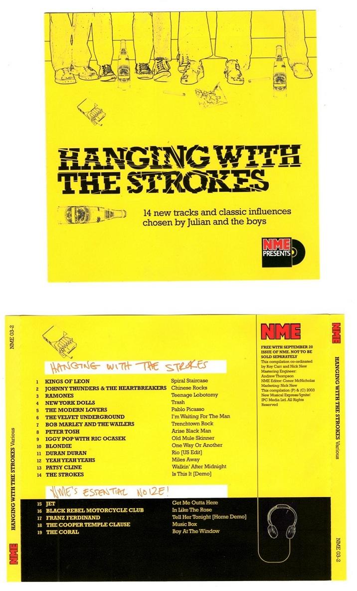 abonnement rock and folk, album the strokes, Comedown Machine Strokes, deezer prémium, ecouter des musique gratuite, influences Strokes, la dernière minute, lana hotel, les strokes, nintendos 3 ds, références Strokes, Strokes Duran Duran, tee shirt the strokes, The Strokes, The Strokes NME, The Stroles NME CD