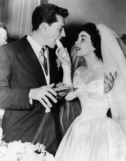Vintage Wedding Dresses in the movies: Elizabeth Taylor marries Nicky Hilton