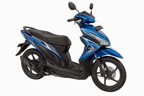 Honda New Vario FI 110 Shimmer Blue