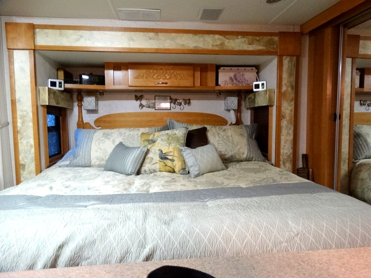 Gypsies At Heart Fifth Wheel Bedroom Remodeling Project