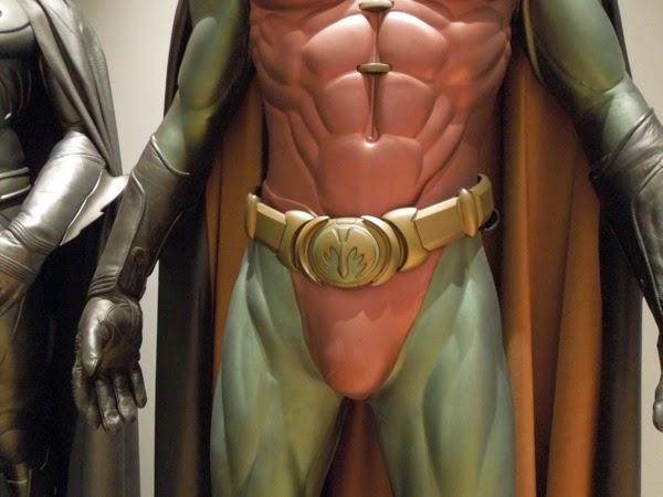 Batman Forever Robin belt costume detail