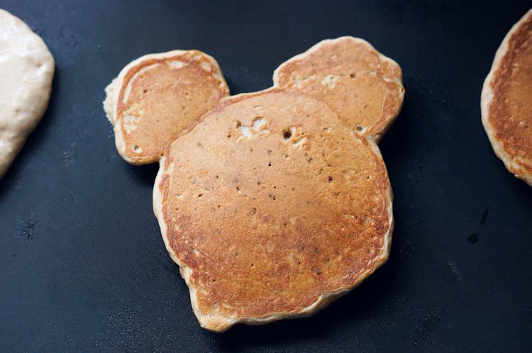 Mickey head pancakes | Ribbons Down My Back