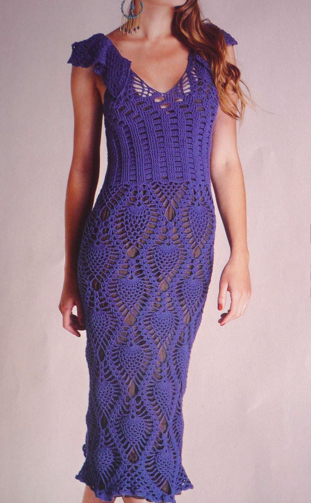 Vestido Mujer Tejido A Crochet Paso A Paso 3 De 3 | apexwallpapers.com