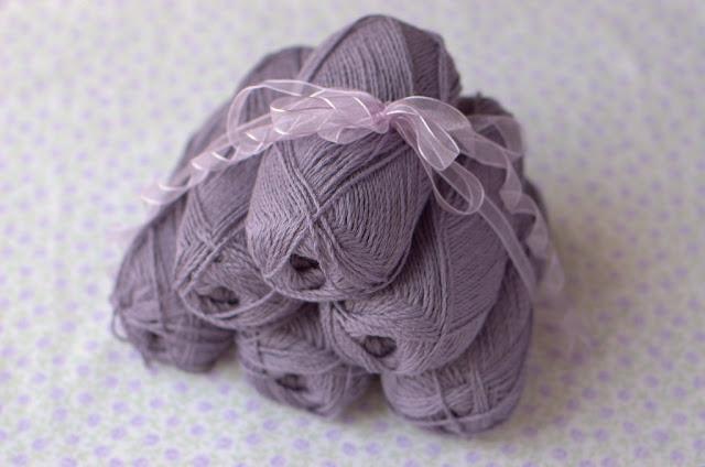 Arezzo lin balls for Lizzie cardigan