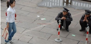 Funny picture Chinese police