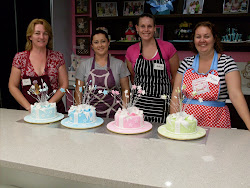 Beginners 2 Shooting Stars Cake Class.