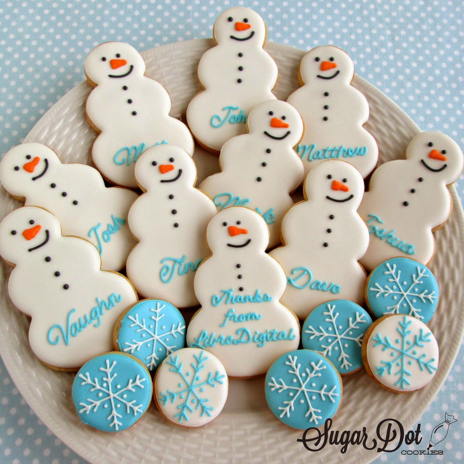 Personalized Snowmen As A Corporate Thank You Gift