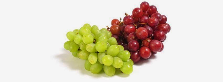 Couverture facebook fruits raisin