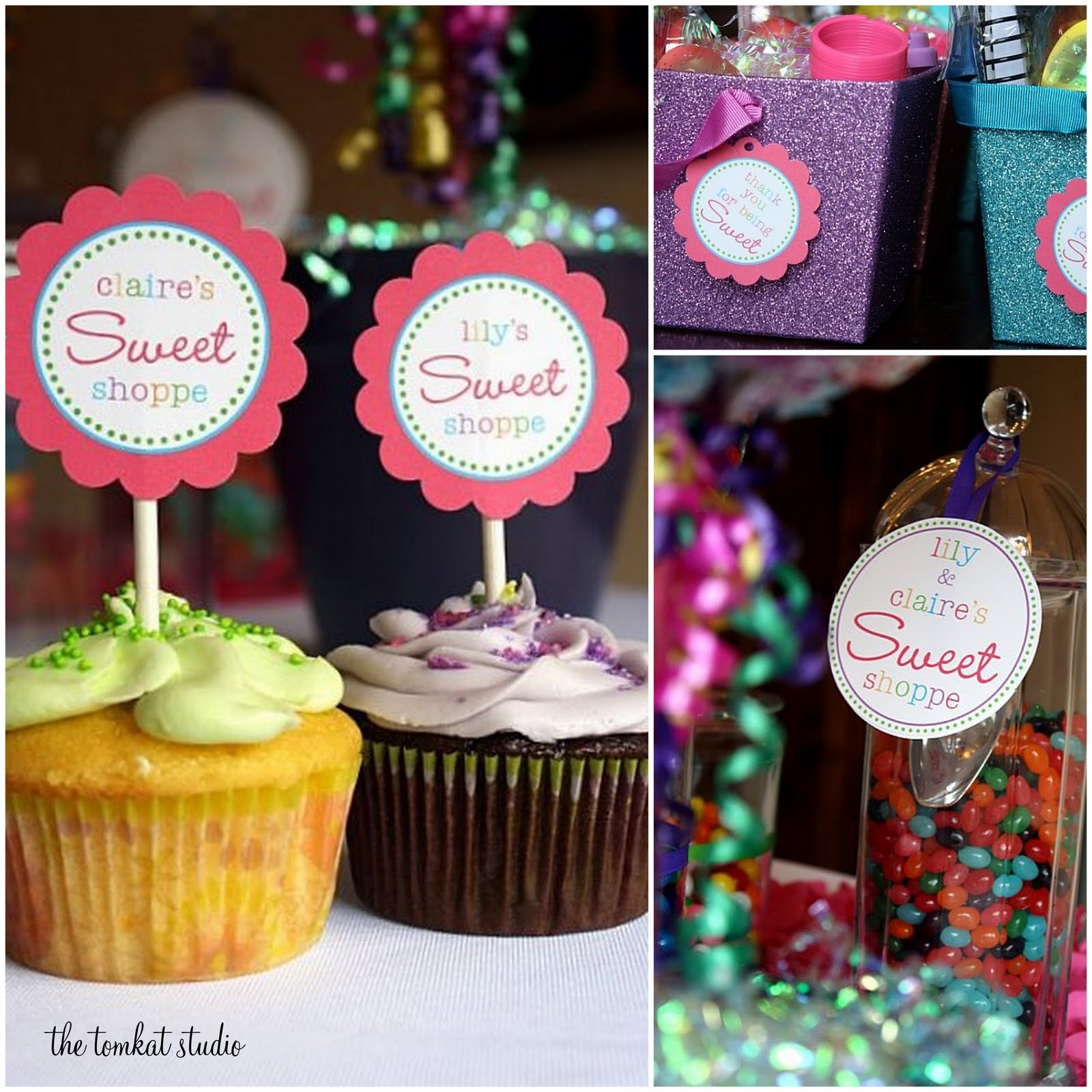 ... Studio: {Sweet Customers} Lollipop 1st Birthday Party for Twins