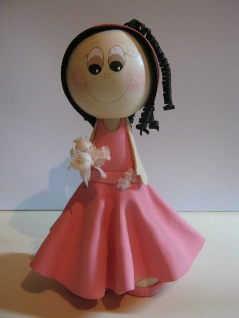ZONA PURPURA: Patrones Fofucha Quinceañera Vestido Elegante Rosado