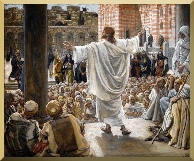 """""""Jerusalem Jerusalem"""" -- by James Tissot"""