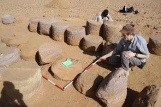 Tim Arkeologi Ceko Gali Situs Kuno Persembahan Dewa Nubian