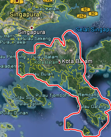 pulau batam indonesia