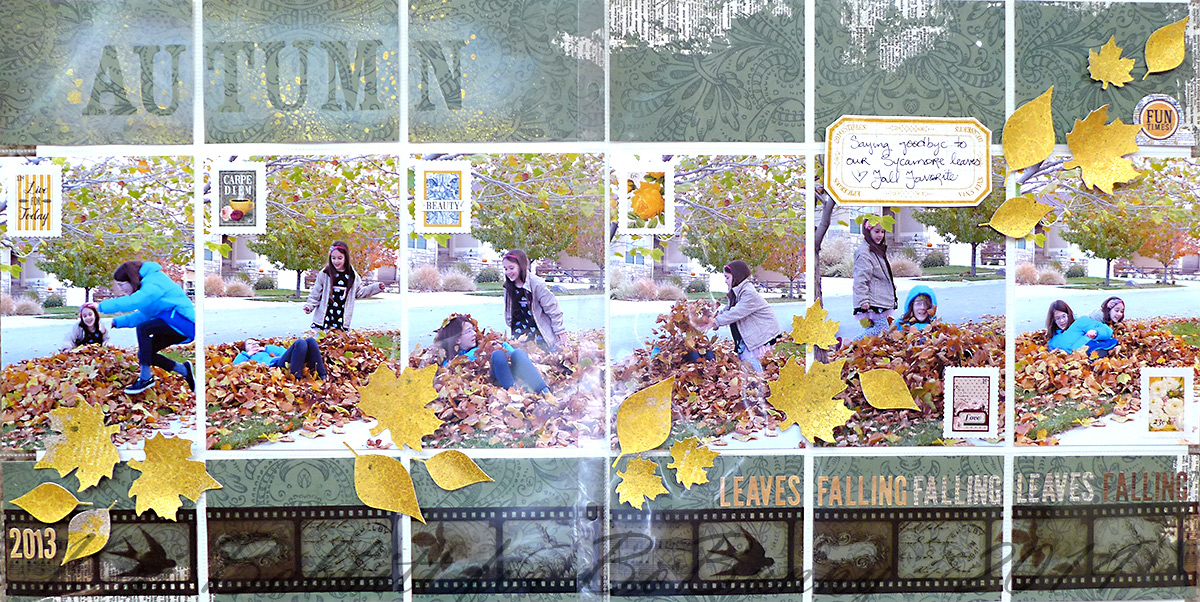 Autumn Misc Me by Keri Babbitt using Rose Cafe