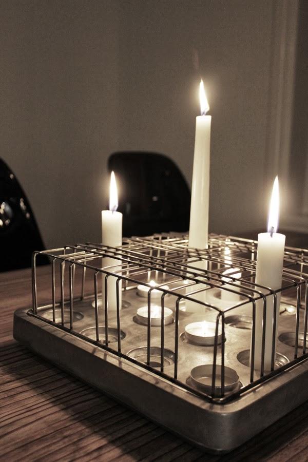 stumpastake, original ljusstake stumpastaken, inspiration ljus, inredning köket