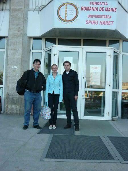 Mihai Miriunis, Laura Simion, Mihai-Ionut Taciu colegii mei de facultate