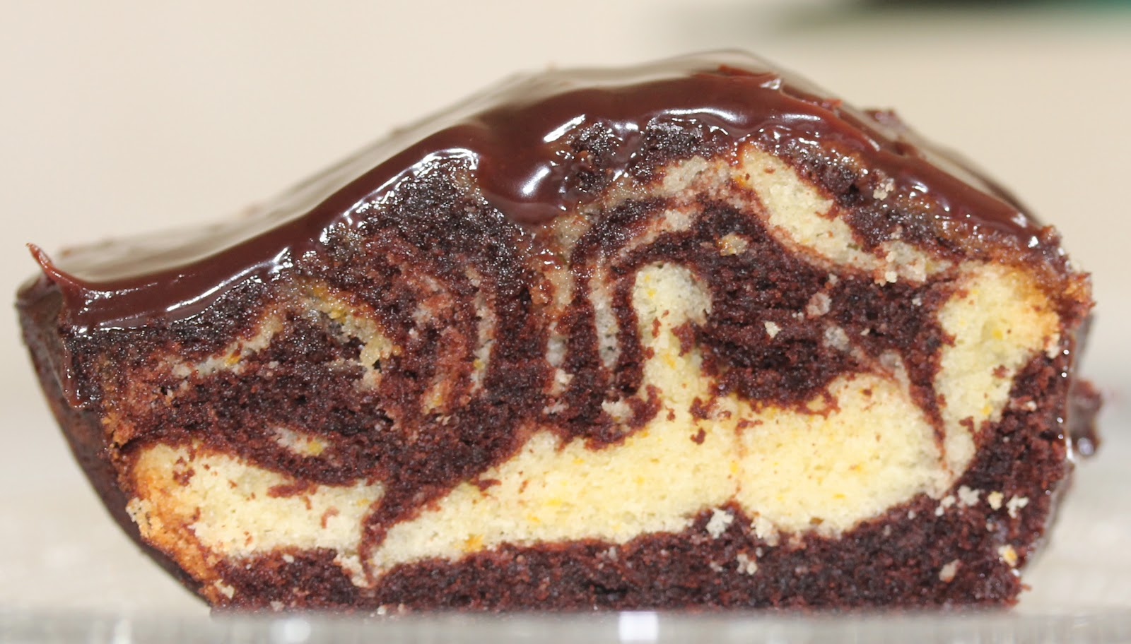 Moist Chocolate Orange Marble Cake