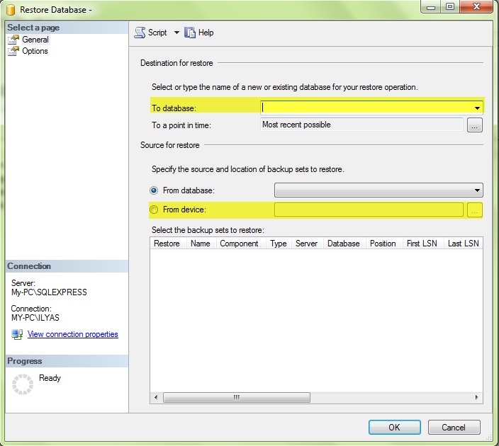 how to open sql server management studio after installation