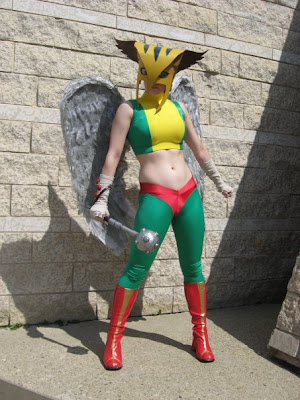 msventress as Hawkgirl